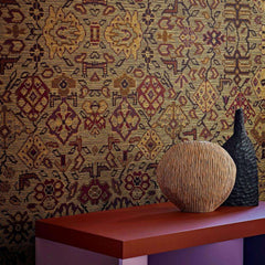 Le tapis d'ardabil behang Pierre Frey Selected wallpapers by OOSTENDORP