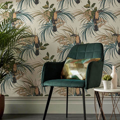 Le Toucan Behang 1838 wallcoverings Selected wallpapers by OOSTENDORP