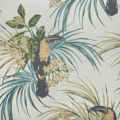 Le Toucan Emerald Behang 1838 wallcoverings Selected wallpapers by OOSTENDORP