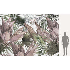 Lost in the Jungle behang Inkiostro Bianco Selected wallpapers by OOSTENDORP