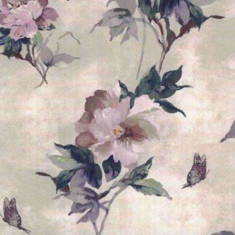 Madama Butterfly Ivory Behang 1838 wallcoverings Selected wallpapers by OOSTENDORP