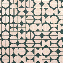 Modern Moon Emerald Shimmer behang Phillip Jeffries Selected wallpapers by OOSTENDORP