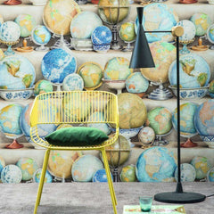 Mondes behang Pierre Frey Selected wallpapers by OOSTENDORP