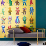 Monster Family behang Pierre Frey Selected wallpapers by OOSTENDORP