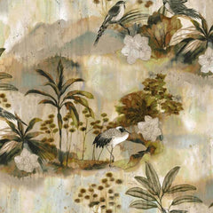Nara Cardamom Behang Coordonne Selected wallpapers by OOSTENDORP