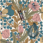 Neo-Belle-Epoque Pink behang Coordonne Selected wallpapers by OOSTENDORP
