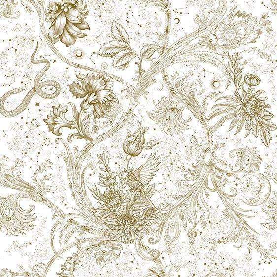Neo-Mithology Gold behang Coordonne Selected wallpapers by OOSTENDORP