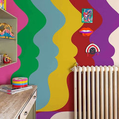 Olimpia Zagnoli - Repetita Luvant Behang Coordonne Selected wallpapers by OOSTENDORP