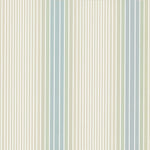 Ombré Stripe Vista/Seashell behang Little Greene Selected wallpapers by OOSTENDORP
