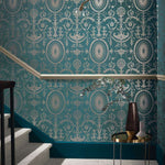 Pall Mall behang Little Greene Selected wallpapers by OOSTENDORP