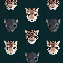 Panthera behang Donker Behang Studio Ditte Selected wallpapers by OOSTENDORP