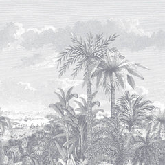 Paradise Found Monochrome Behang 1838 wallcoverings Selected wallpapers by OOSTENDORP