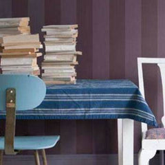 Plain Stripe Behang Farrow & Ball Selected wallpapers by OOSTENDORP