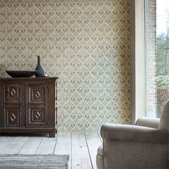 Pure Trellis behang Morris & Co Selected wallpapers by OOSTENDORP