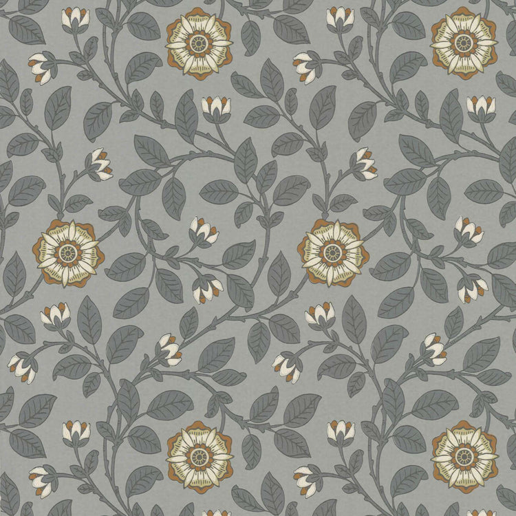 Richmond Green Platinum behang Little Greene Selected wallpapers by OOSTENDORP