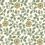 Richmond Green Guinevere behang Little Greene Selected wallpapers by OOSTENDORP