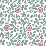 Richmond Green Dorcas behang Little Greene Selected wallpapers by OOSTENDORP