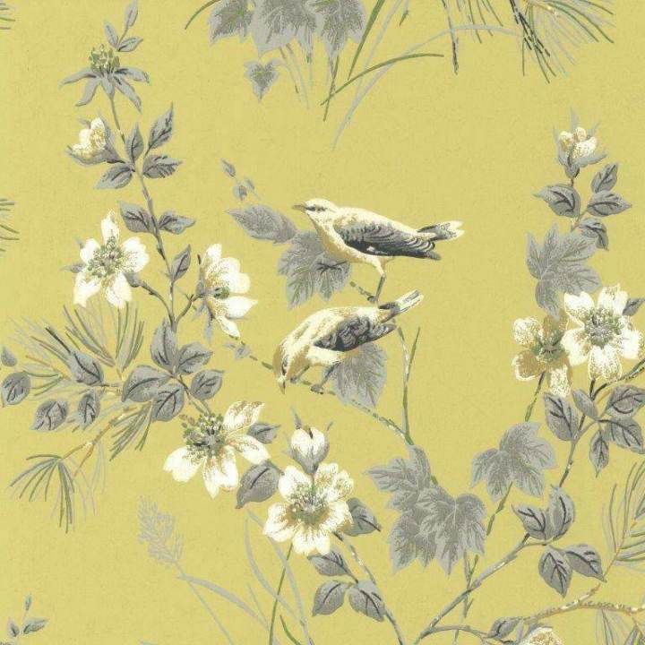 Rosemore Yellow Behang 1838 wallcoverings Selected wallpapers by OOSTENDORP