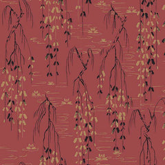 Sabi Red behang Coordonne Selected wallpapers by OOSTENDORP