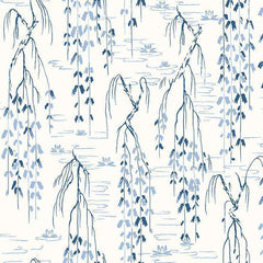 Sabi Blue behang Coordonne Selected wallpapers by OOSTENDORP