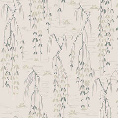 Sabi Green behang Coordonne Selected wallpapers by OOSTENDORP