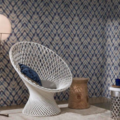 Shibori Blues Behang Giardini Wallcoverings Selected wallpapers by OOSTENDORP
