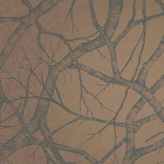 Silver Birch COPPER Behang Texam Selected wallpapers by OOSTENDORP