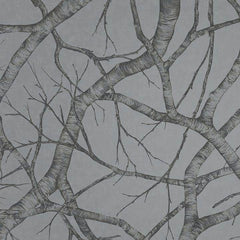Silver Birch SILVER Behang Texam Selected wallpapers by OOSTENDORP