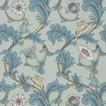 Stag Trail Arsenic behang Little Greene Selected wallpapers by OOSTENDORP