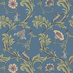 Stag Trail Juniper behang Little Greene Selected wallpapers by OOSTENDORP