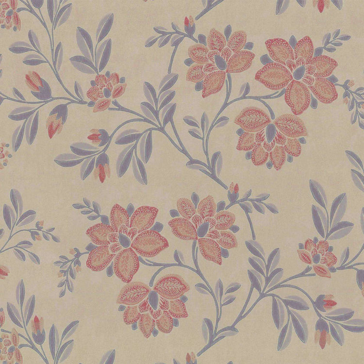 Stitch Berry behang Little Greene Selected wallpapers by OOSTENDORP