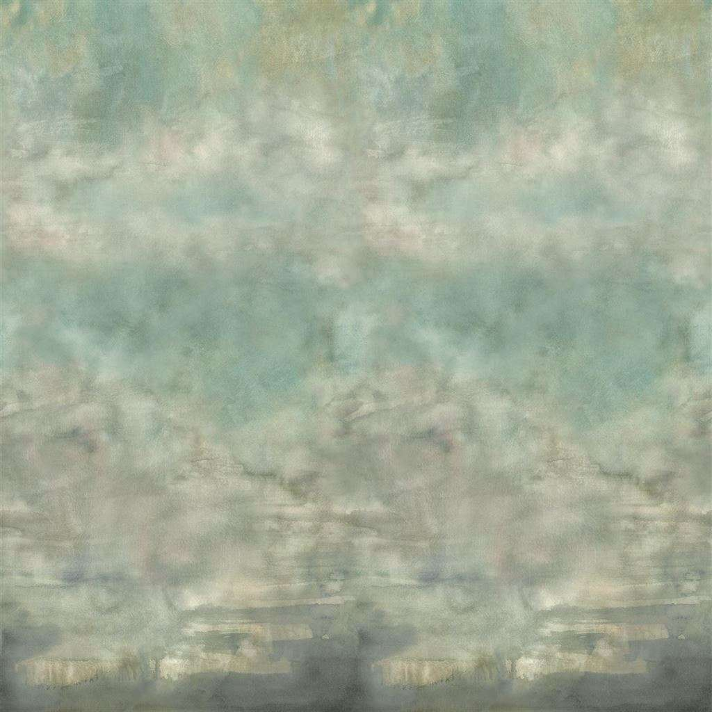 Suisai Celadon behang Designers Guild Selected wallpapers by OOSTENDORP