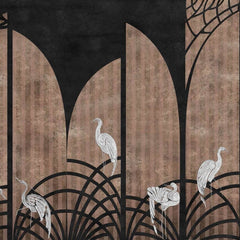 Tassel Coal Behang Coordonne Selected wallpapers by OOSTENDORP