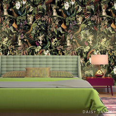 The Bird of Paradise Colour behang Daisy James Selected wallpapers by OOSTENDORP