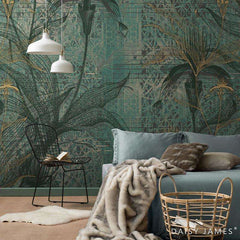 The Orchid behang Daisy James Selected wallpapers by OOSTENDORP