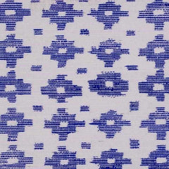 Tulu Cloth Bali Blue behang Phillip Jeffries Selected wallpapers by OOSTENDORP