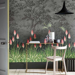 Upper Brook St. behang Little Greene Selected wallpapers by OOSTENDORP