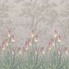 Upper Brook St. Matin behang Little Greene Selected wallpapers by OOSTENDORP