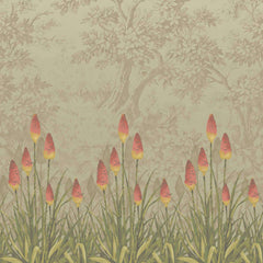 Upper Brook St. Midi behang Little Greene Selected wallpapers by OOSTENDORP