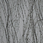 Virginia Creeper SILVER Behang Texam Selected wallpapers by OOSTENDORP