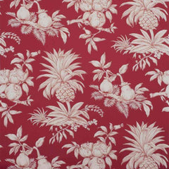Dandy Red behang Boussac Selected wallpapers by OOSTENDORP