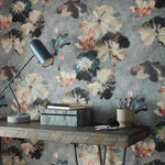 Water Lilies Behang 1838 wallcoverings Selected wallpapers by OOSTENDORP
