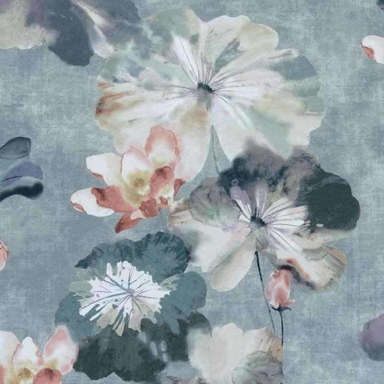 Water Lilies Mineral Behang 1838 wallcoverings Selected wallpapers by OOSTENDORP