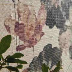 Water Lilies Grasscloth Behang 1838 wallcoverings Selected wallpapers by OOSTENDORP