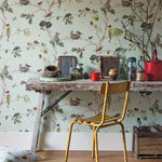 Woodland Chorus behang Sanderson Selected wallpapers by OOSTENDORP