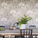 Woodland Toile behang Sanderson Selected wallpapers by OOSTENDORP