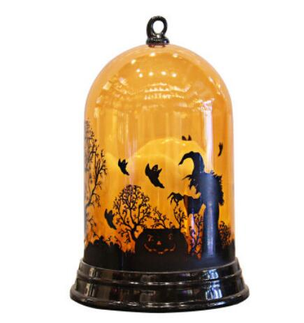 LED Lantern Lights Pumpkin  Light Up Lanterns Halloween Decoration