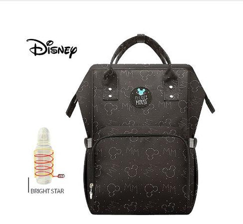 Disney Baby Diaper Bags... USB Heating waterproof Maternity Nappy Diaper Stroller Bag.... Insulation/ Large Capacity Mochila Backpack