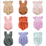 Newborn Baby Girl Boy Summer Ruffle PP Cotton Rompers Hot Play Party Gift Kids Jumpsuit Outfits Cute Baby Clothes 0-24M