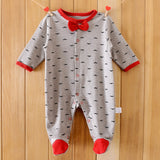 New Arrival Baby clothes baby boy girls footed romper baby rompers 100% cotton sleep & play clothes baby pajamas newborn